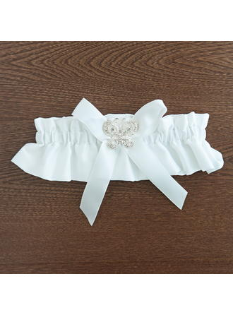 Garters Women/Bridal/Lady Wedding/Casual/Dress/Special Occasion Satin With Rhinestone Garter