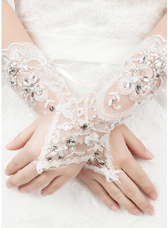 Tulle/Lace Ladies' Gloves Bridal Gloves Fingerless 22cm(Approx.8.66inch) Gloves