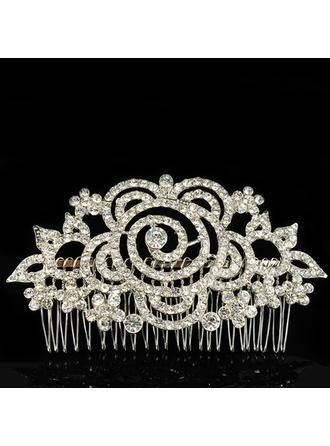 "Combs & Barrettes Wedding/Special Occasion Alloy 4.72""(Approx.12cm) 2.56""(Approx.6.5cm) Headpieces"