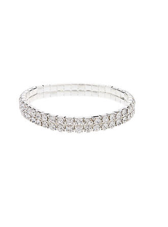 "Bracelets Alloy Crystal Beautiful 6.30""-9.45""(Approx.16cm-24cm) Wedding & Party Jewelry"