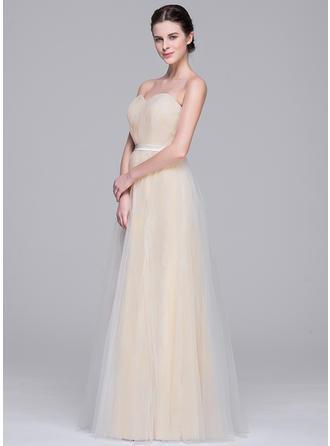 a line wedding dresses v neck
