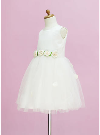 diy tulle flower girl dresses