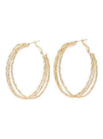 Earrings Alloy Pierced Ladies' Charming Wedding & Party Jewelry