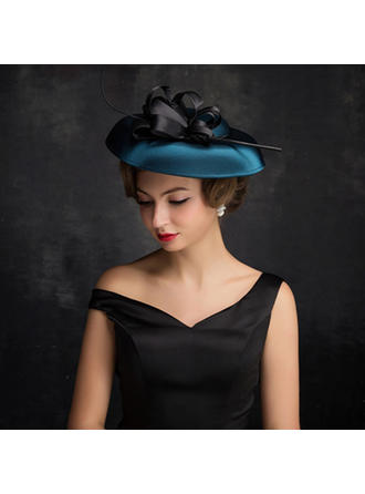 Feather/Net Yarn/Tulle With Feather Fascinators Classic Ladies' Hats