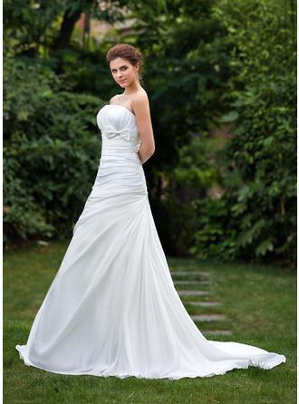 Delicate Тафта Свадебные платья (002001306)