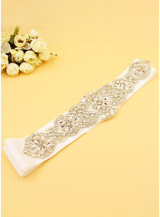 Women With Rhinestones Sash Elegant Sashes & Belts