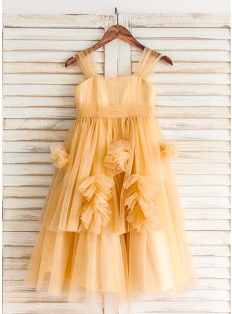 white and gold flower girl dresses