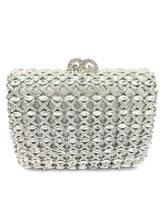 Gorgeous Kristall/Strass/Legering Grepp/Lyx Bag