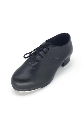 Unisex Tap Leatherette Dance Shoes
