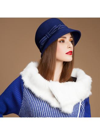 Wool Bowler/Cloche Hat Charming Ladies' Hats