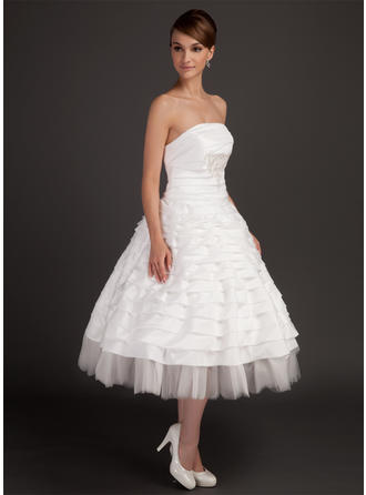cheap long train wedding dresses