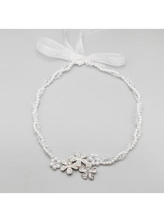 "Headbands Wedding/Special Occasion/Party Alloy/Imitation Pearls 21.26""(Approx.54cm) 1.77""(Approx.4.5cm) Headpieces"
