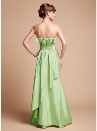 chiffon and satin bridesmaid dresses