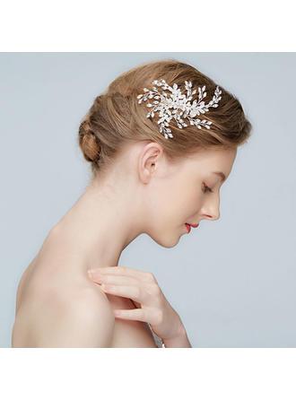 Magnifique Alliage épingles à cheveux avec Strass/Cristal (Vendu dans une seule pièce)