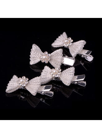 "Combs & Barrettes Wedding/Special Occasion/Casual Alloy 1.69""(Approx.4.3cm) 0.78""(Approx.2cm) Headpieces"