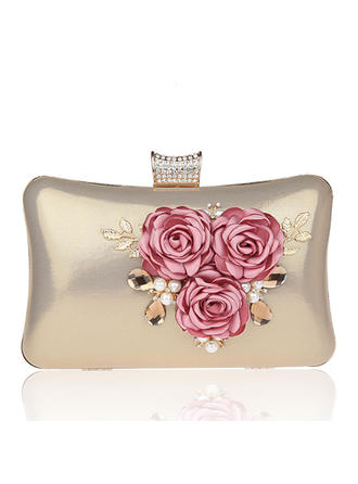 "Clutches PVC Magnetic Closure Elegant 5.91""(Approx.15cm) Clutches & Evening Bags"