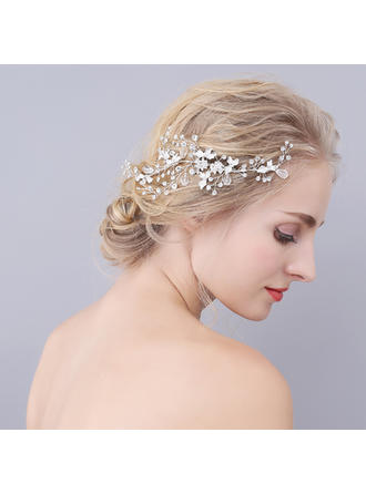 "Combs & Barrettes Wedding/Special Occasion Alloy 7.09""(Approx.18cm) 2.76""(Approx.7cm) Headpieces"
