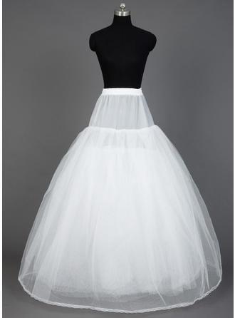 Petticoats Floor-length Nylon/Tulle Netting Ball Gown Slip 8 Tiers Petticoats