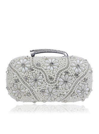 Handtaschen/Umhängetasche/Einkaufstaschen Hochzeit/Zeremonie & Party PU Busseln Arretieren Verschluss Elegant Clutches & Abendtaschen