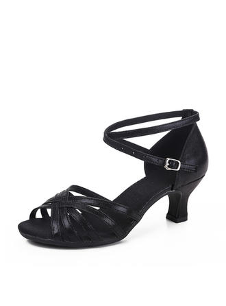 Women's Latin Leatherette Dance Shoes (053183442)