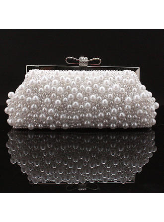 Clutches Wedding/Ceremony & Party Beading Snap Closure Elegant Clutches & Evening Bags