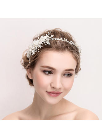 Ladies Beautiful Crystal/Alloy/Imitation Pearls/Silk Flower Tiaras