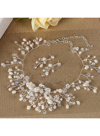 Jewelry Sets Alloy Lobster Clasp Pierced Ladies' Wedding & Party Jewelry