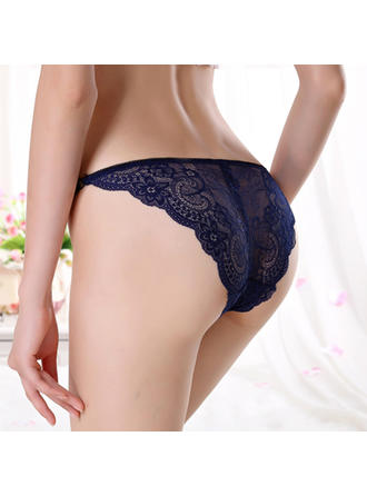 Panties Casual/Wedding/Special Occasion Lace Simple And Elegant Lingerie