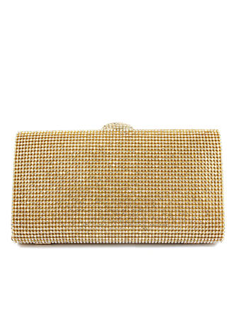Clutches Wedding/Ceremony & Party PU Clip Closure Charming Clutches & Evening Bags