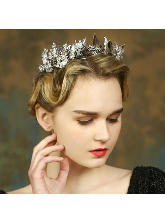 "Tiaras Special Occasion/Casual/Party/Art photography Crystal/Rhinestone 9.06""(Approx.23cm) 2.17""(Approx.5.5cm) Headpieces"