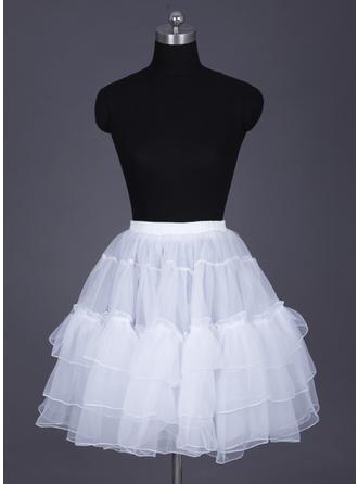 Short-length Organza Half Slip/Short Flare Slip 2 Tiers Wedding/Special Occasion Petticoats
