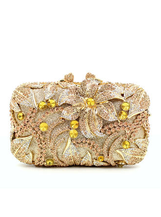 Clutches Wedding/Ceremony & Party Composites Kiss lock closure Elegant Clutches & Evening Bags