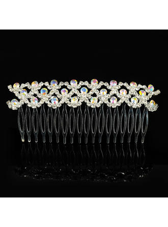 "Combs & Barrettes Wedding/Special Occasion Alloy 4.53""(Approx.11.5cm) 1.97""(Approx.5cm) Headpieces"