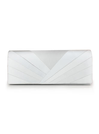 Clutches Wedding/Ceremony & Party Silk Magnetic Closure Charming Clutches & Evening Bags