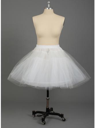 PLUS SIZE Petticoats Nylon/Tulle Netting A-Line Slip/Half Slip 3 Tiers Wedding/Special Occasion Petticoats
