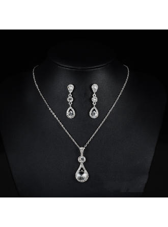 Hermoso Aleación/Diamantes de imitación Señoras' Sistemas de la joyería