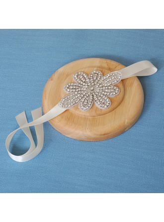 "Headbands Wedding/Special Occasion Satin 4.72""(Approx.12cm) 3.55""(Approx.9cm) Headpieces"