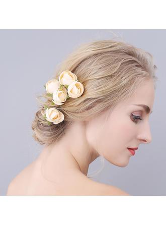 Romantique Tissu épingles à cheveux (Lot de 3)