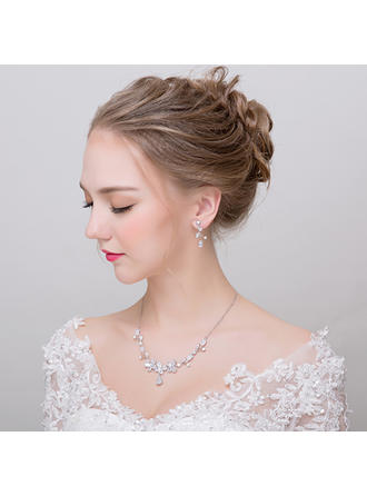 "Jewelry Sets Alloy Ladies' Shining 16.1""-17.7(Approx.41cm-45cm) Wedding & Party Jewelry"