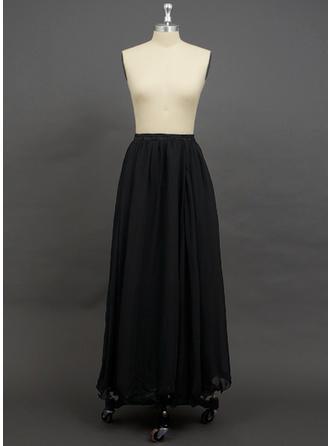 Petticoats Floor-length Chiffon A-Line Slip 2 Tiers Petticoats