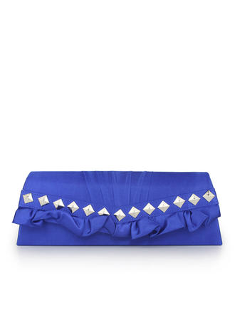 Clutches Wedding/Ceremony & Party/Office & Career Silk Magnetic Closure Fashional Clutches & Evening Bags