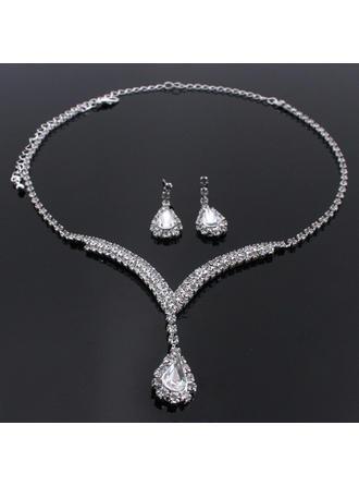 Romantiskt Legering/Strass Kvinnor/Damer' Smycken Sets