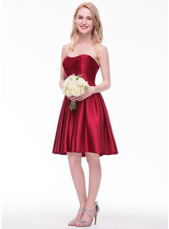 taupe bridesmaid dresses long