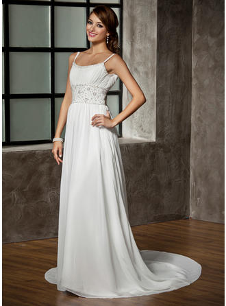 cheap ivory lace wedding dresses