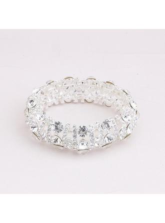 Bracelets Strass Dames Élégante Mariage & Bijoux de Soirée