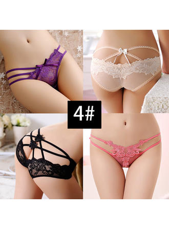 Panties Casual/Wedding/Special Occasion Bridal Lace Charming Lingerie (041117000)