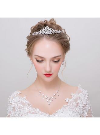 Jewelry Sets Zircon Earclip Ladies' Beautiful Wedding & Party Jewelry