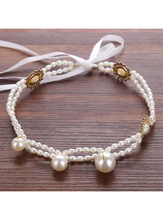 "Headbands Wedding/Party Rhinestone/Imitation Pearls 7.87""(Approx.20cm) 0.98""(Approx.2.5cm) Headpieces"