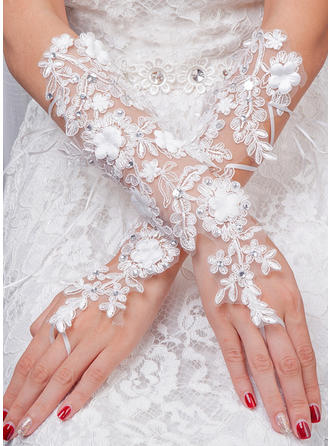 Tulle Ladies' Gloves Bridal Gloves Fingerless 35cm(Approx.13.78inch) Gloves (014192222)