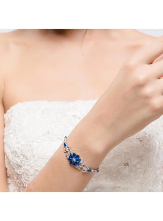 Bracelets Alloy/Zircon Ladies' Beautiful Wedding & Party Jewelry